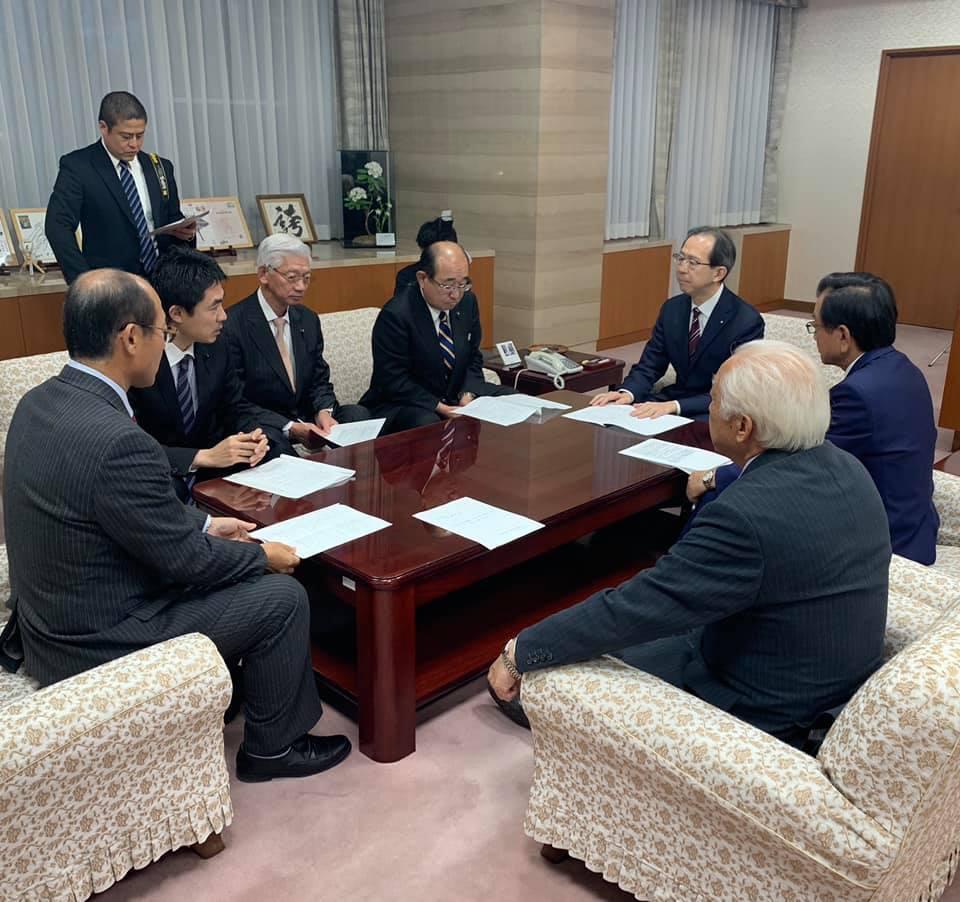 『知事要望(台風19号関連)、政調会』_f0259324_18061461.jpg