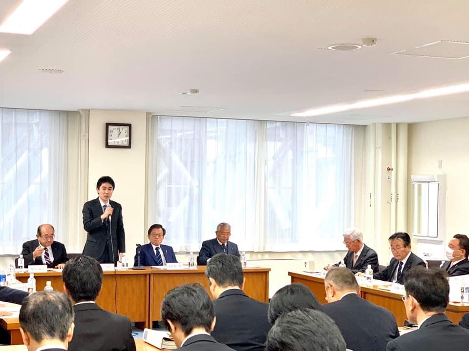『知事要望(台風19号関連)、政調会』_f0259324_18061483.jpg