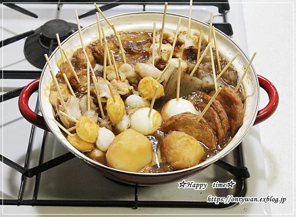 自家製コロッケ・生姜焼き弁当と味噌おでん♪_f0348032_18170955.jpg
