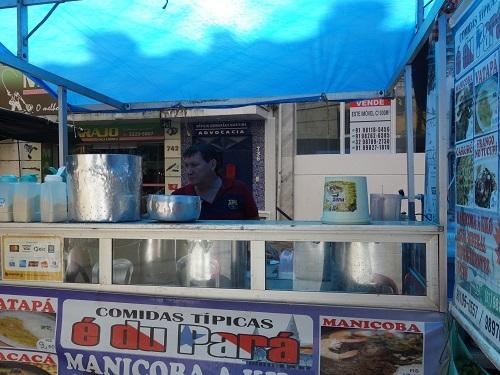 パラー州の郷土料理その3.キャッサバの葉の煮込み、マニソバ Maniçoba_c0030645_02193030.jpg