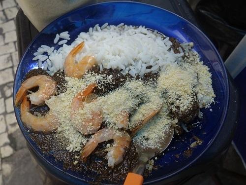 パラー州の郷土料理その3.キャッサバの葉の煮込み、マニソバ Maniçoba_c0030645_02212399.jpg
