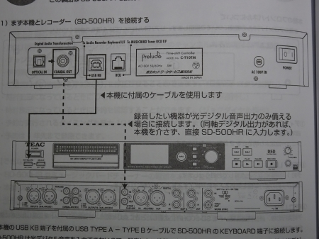 ミュージックバード用タイムシフトコントローラー C-T10TM 、使ってみました!_f0355948_02325171.jpg