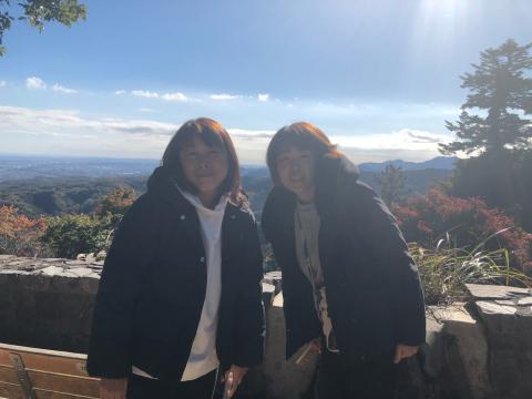 女将、高尾山に挑戦!_e0230154_17033629.jpg
