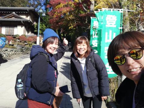 女将、高尾山に挑戦!_e0230154_17072795.jpg