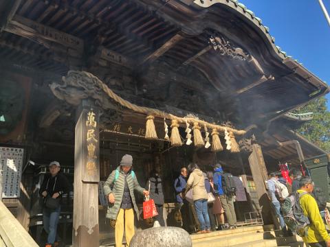女将、高尾山に挑戦!_e0230154_19194579.jpg