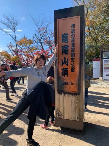 女将、高尾山に挑戦!_e0230154_19331477.jpg