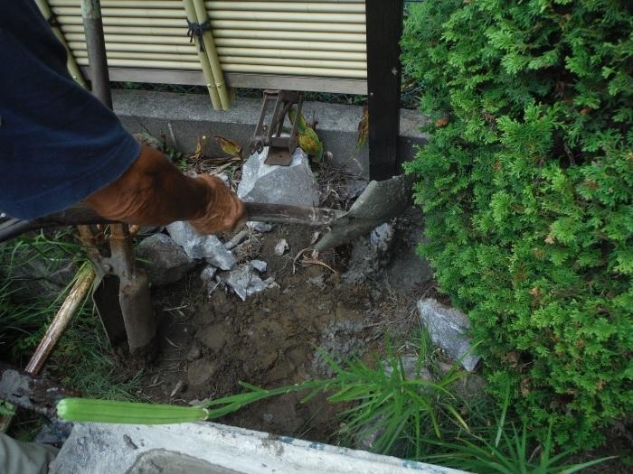 小工事 ~ フェンス補修。_d0165368_04490126.jpg