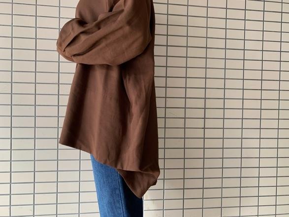 CHIGNONSTAR☆後タックドレープShirt☆彡_e0269968_16294339.jpg
