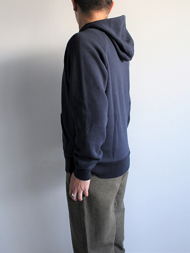 FLISTFIA Long Sleeve After Hooded / Navy_b0139281_18534367.jpg