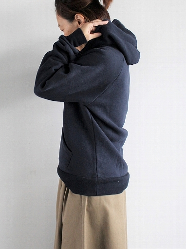 FLISTFIA Long Sleeve After Hooded / Navy_b0139281_18535910.jpg