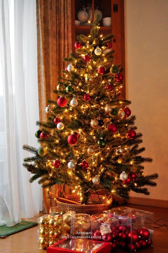 Christmas tree 1122の日_e0359481_18200364.jpg