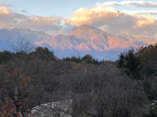 朝方、甲斐駒ケ岳が赤く染まって。_d0338282_16171118.jpg