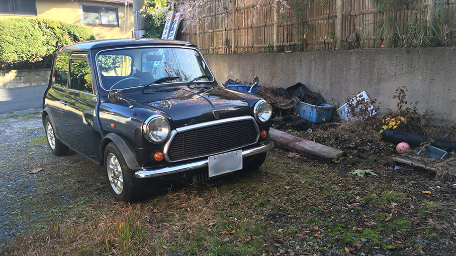 Miniの代車_b0061387_16470659.jpg