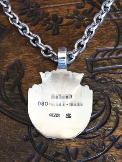 紋章のドッグネックレス_f0155891_19095154.jpg