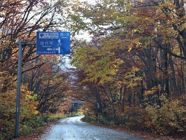 藤田八束の絶景地を訪ねて@秋深くみちのくの旅、八甲田の絶景は秋景色にある、世界に誇る八甲田山系の秋の絶景_d0181492_18331807.jpg