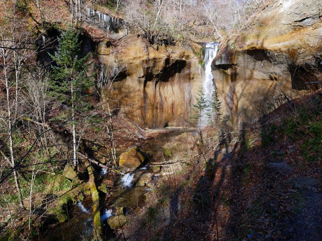 七条大滝、2019.11.22_f0138096_16170118.jpg