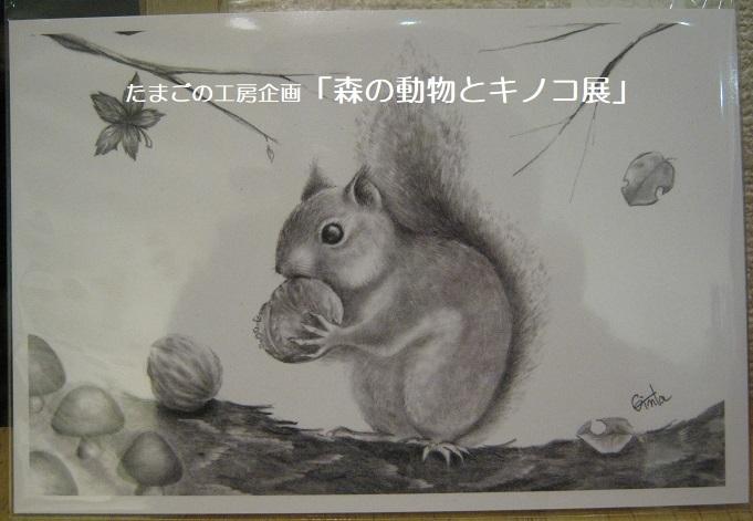 たまごの工房企画「森の動物とキノコ展」 その5_e0134502_17211619.jpg