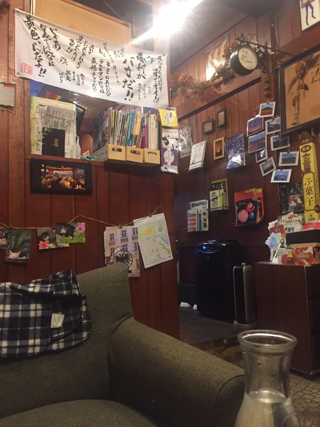 喫茶 1er ぷるみえ (豚そぼろご飯に柚子味噌のマヨネーズ)_e0115904_12032948.jpg