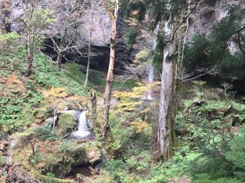 秋のトレッキング  出会の滝_e0115904_12470912.jpg