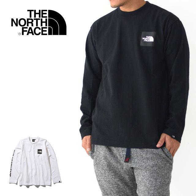 THE NORTH FACE [ザ・ノース・フェイス] L/S Spuare Logo Tee [NT81931] ロングスリーブスクエアロゴティー・長袖・ MEN\'S _f0051306_18320206.jpg