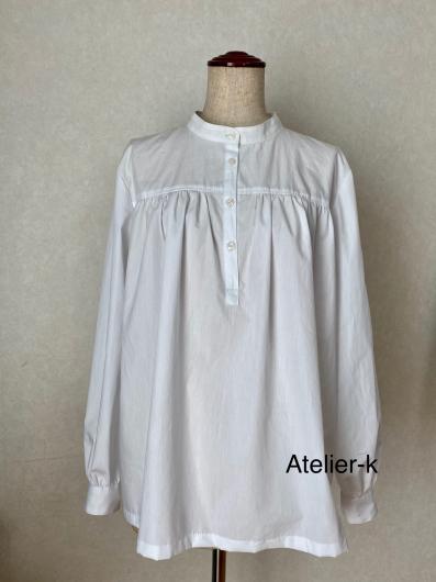 ギャザーたっぷりのシャツ完成しました♪_c0319009_17382698.jpg
