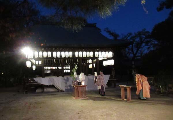 白峯神宮 火焚き祭_e0048413_22475740.jpg