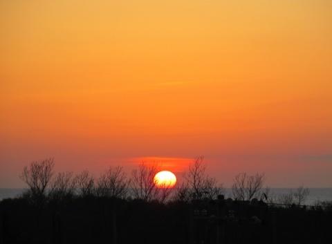 本日の夕陽!_d0072917_20085495.jpg