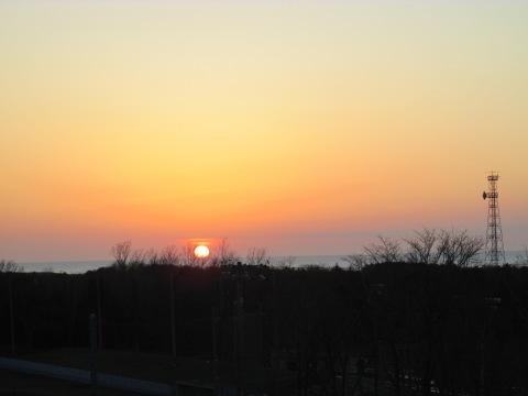 本日の夕陽!_d0072917_20102105.jpg