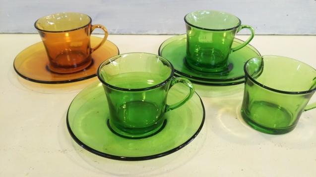 DURALEXのカップ&ソーサー、など☆_e0199317_11304305.jpg