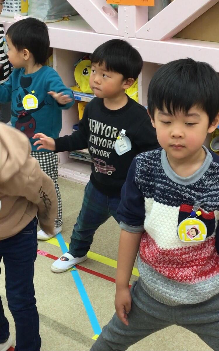踊りが好きだよ( 出演はお友だち編 ) 年少組_e0412431_17373325.jpg