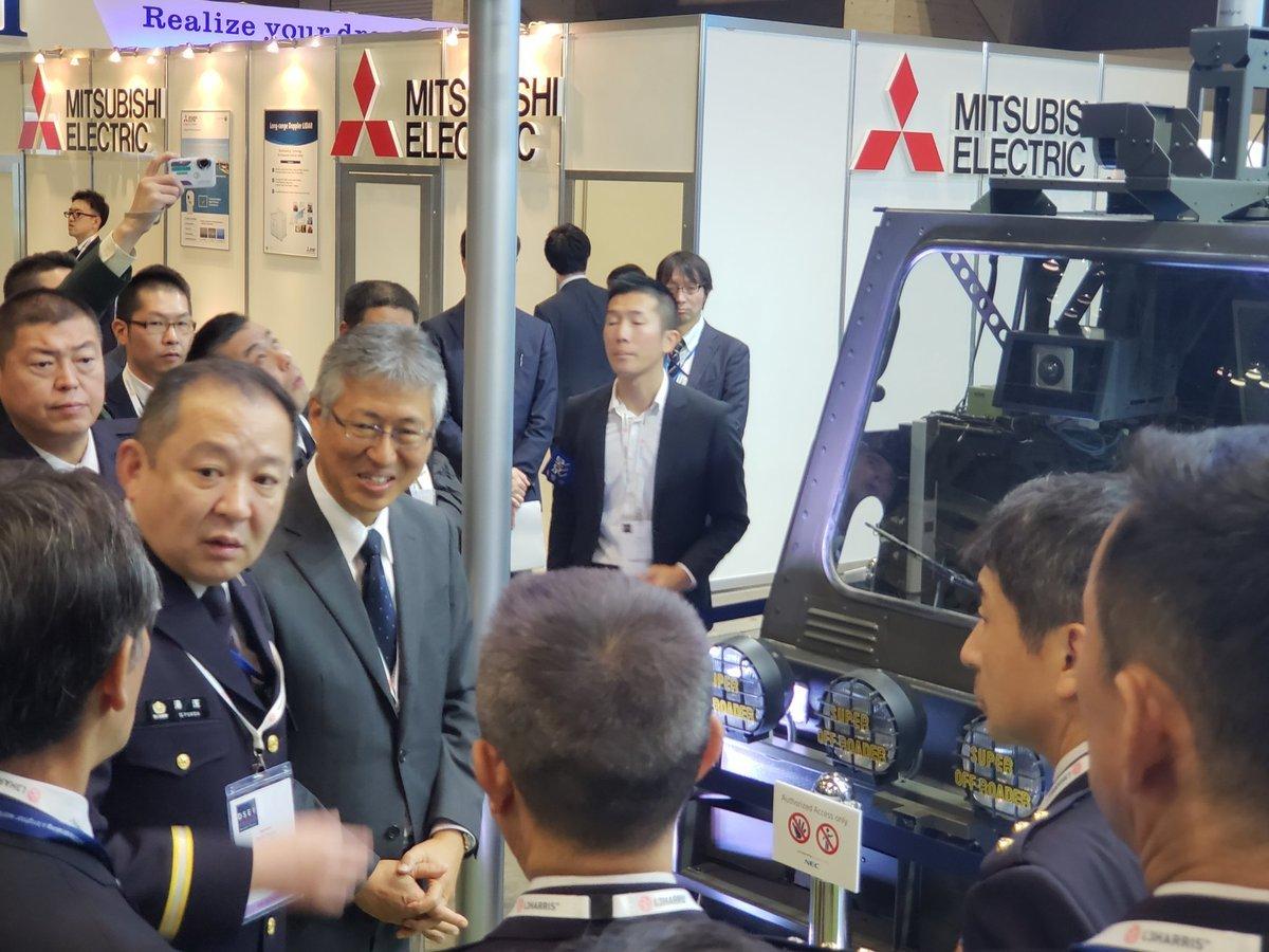 【写真&ツイートまとめ】日本初の総合武器見本市「DSEI JAPAN」の危険な実態!_a0336146_22305518.jpg