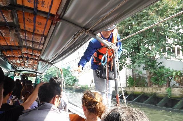 バンコクのセーンセープ運河 Saen Saep Canal in Bangkok_c0027849_20414233.jpg