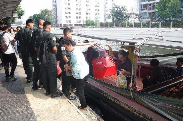バンコクのセーンセープ運河 Saen Saep Canal in Bangkok_c0027849_20414236.jpg