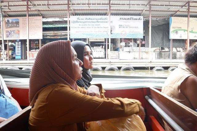 バンコクのセーンセープ運河 Saen Saep Canal in Bangkok_c0027849_20414284.jpg