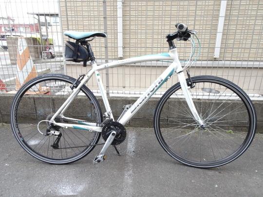 クロスバイク タイヤ交換~ロードバイク カスタム~_e0140354_15230501.jpg