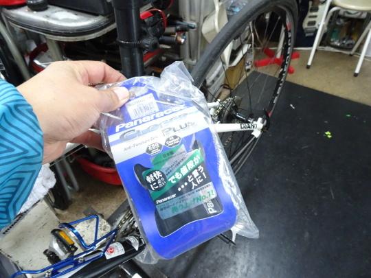 クロスバイク タイヤ交換~ロードバイク カスタム~_e0140354_15253007.jpg