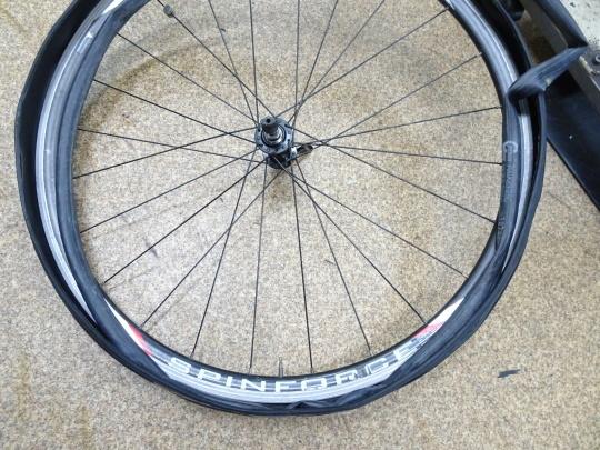 クロスバイク タイヤ交換~ロードバイク カスタム~_e0140354_15273530.jpg