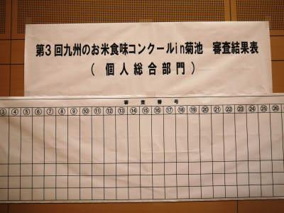 第3回九州のお米食味コンクールin菊池に行ってきました!_a0254656_18120130.jpg