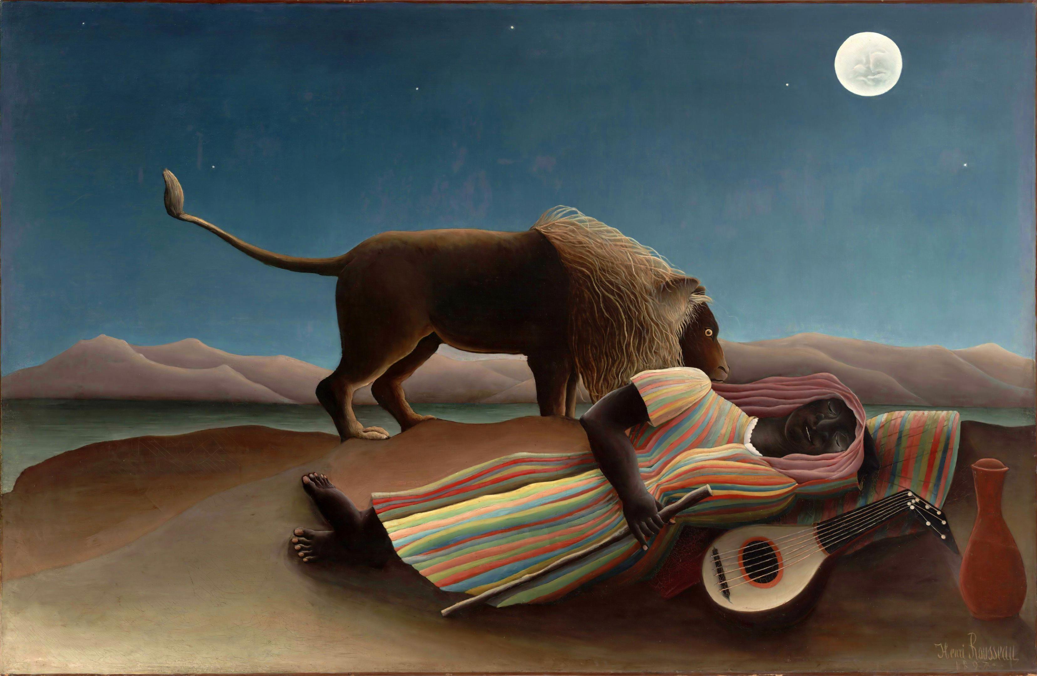 Henri_Rousseau - 眠るジプシー女(1897年)_a0185081_10413679.jpg