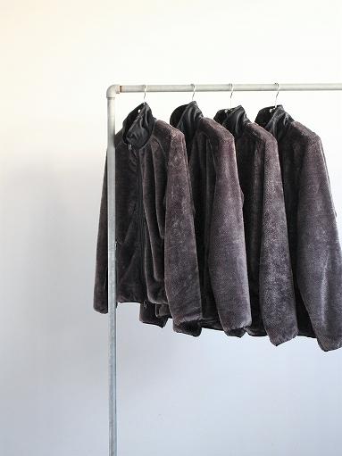Needles Sportswear Piping Jacket - Micro Fleece / Grey_b0139281_12542970.jpg