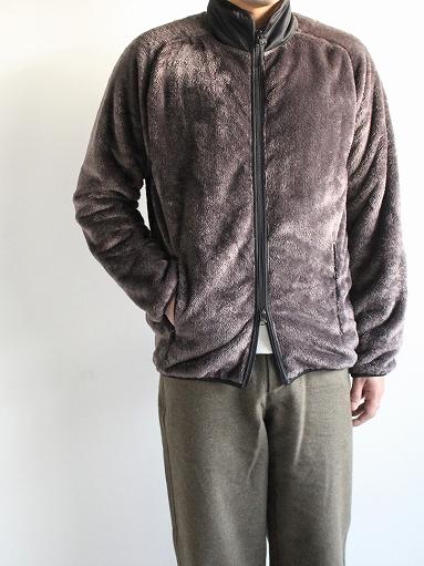 Needles Sportswear Piping Jacket - Micro Fleece / Grey_b0139281_1255168.jpg