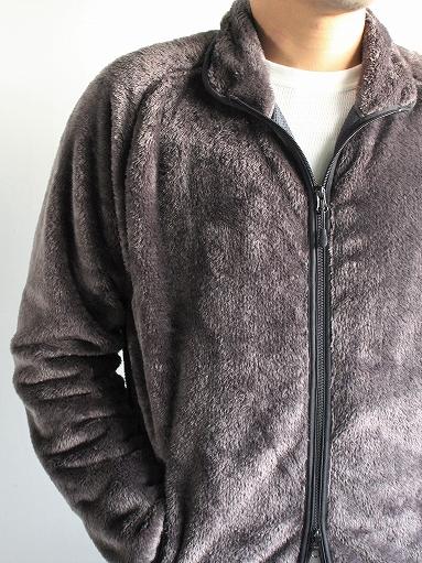 Needles Sportswear Piping Jacket - Micro Fleece / Grey_b0139281_12554814.jpg