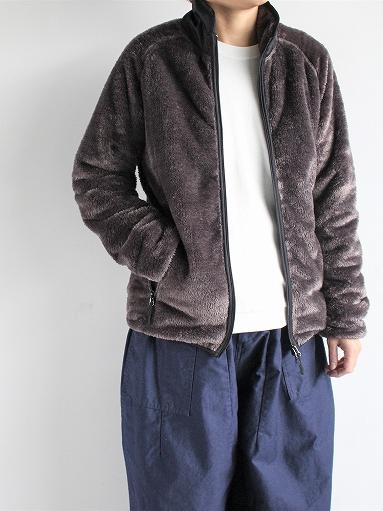 Needles Sportswear Piping Jacket - Micro Fleece / Grey_b0139281_1255487.jpg
