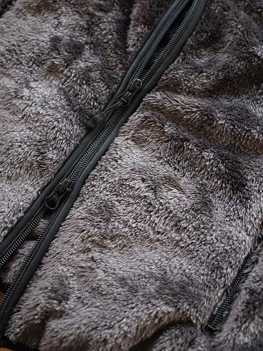 Needles Sportswear Piping Jacket - Micro Fleece / Grey_b0139281_1255962.jpg