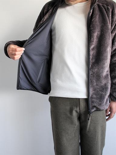 Needles Sportswear Piping Jacket - Micro Fleece / Grey_b0139281_12561546.jpg