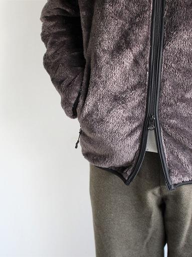 Needles Sportswear Piping Jacket - Micro Fleece / Grey_b0139281_1256156.jpg