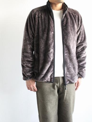 Needles Sportswear Piping Jacket - Micro Fleece / Grey_b0139281_12564145.jpg
