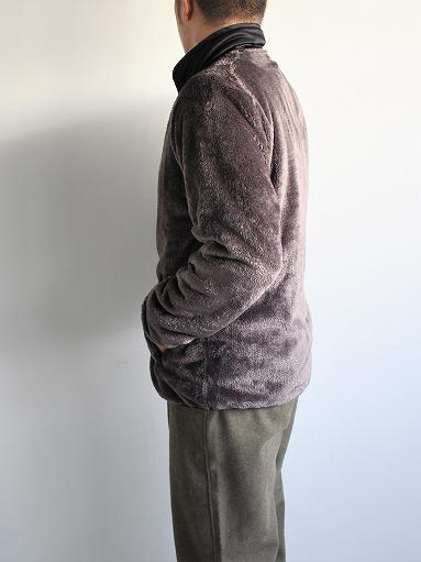 Needles Sportswear Piping Jacket - Micro Fleece / Grey_b0139281_12564610.jpg