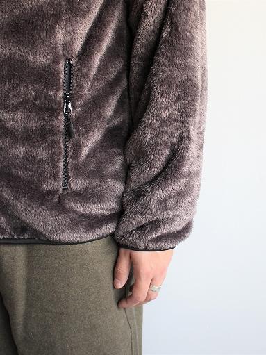 Needles Sportswear Piping Jacket - Micro Fleece / Grey_b0139281_1256694.jpg