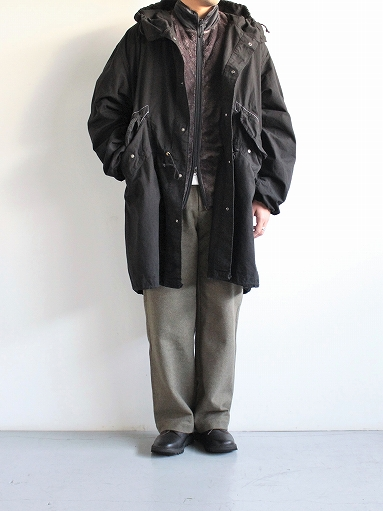 Needles Sportswear Piping Jacket - Micro Fleece / Grey_b0139281_1257301.jpg